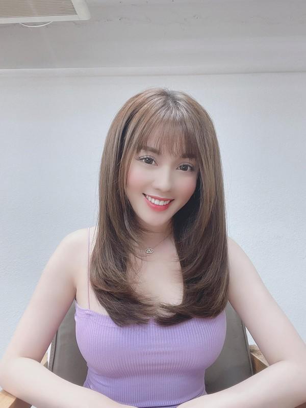 Au Ha My lien tuc khoe gia san khung sau 8 thang ly hon-Hinh-2