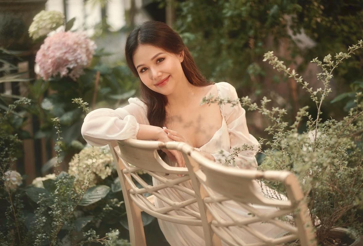 Thong bao mang thai, vo thieu gia Cocobay khoe nhan sac dinh cao-Hinh-7