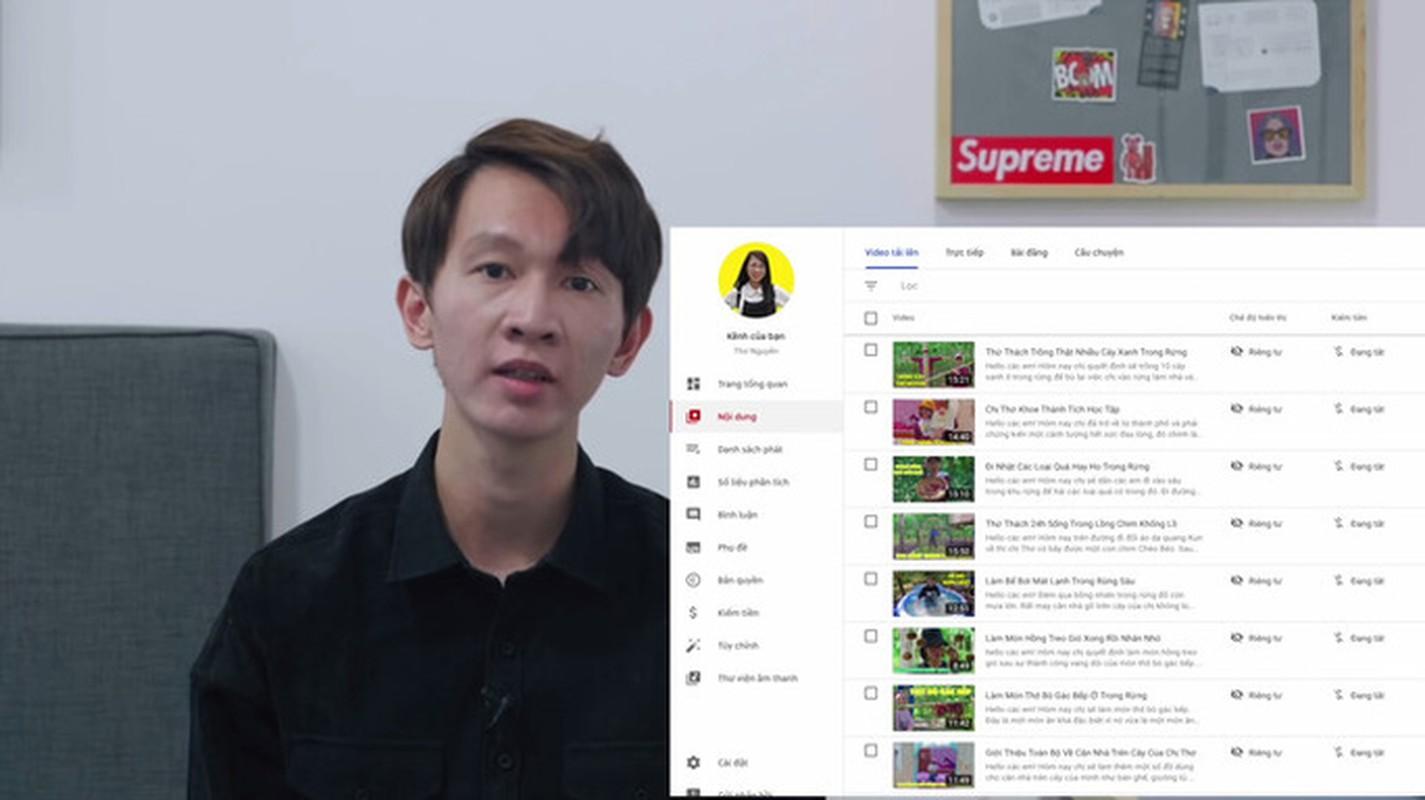 """Kenh YouTube Tho Nguyen bat ngo """"hoi sinh"""", su that dang sau la gi?-Hinh-2"""