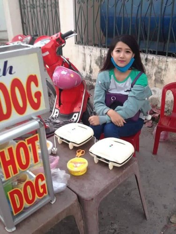 Nhan sac co vo chuan hot girl van nguoi me cua Phan Manh Quynh-Hinh-4