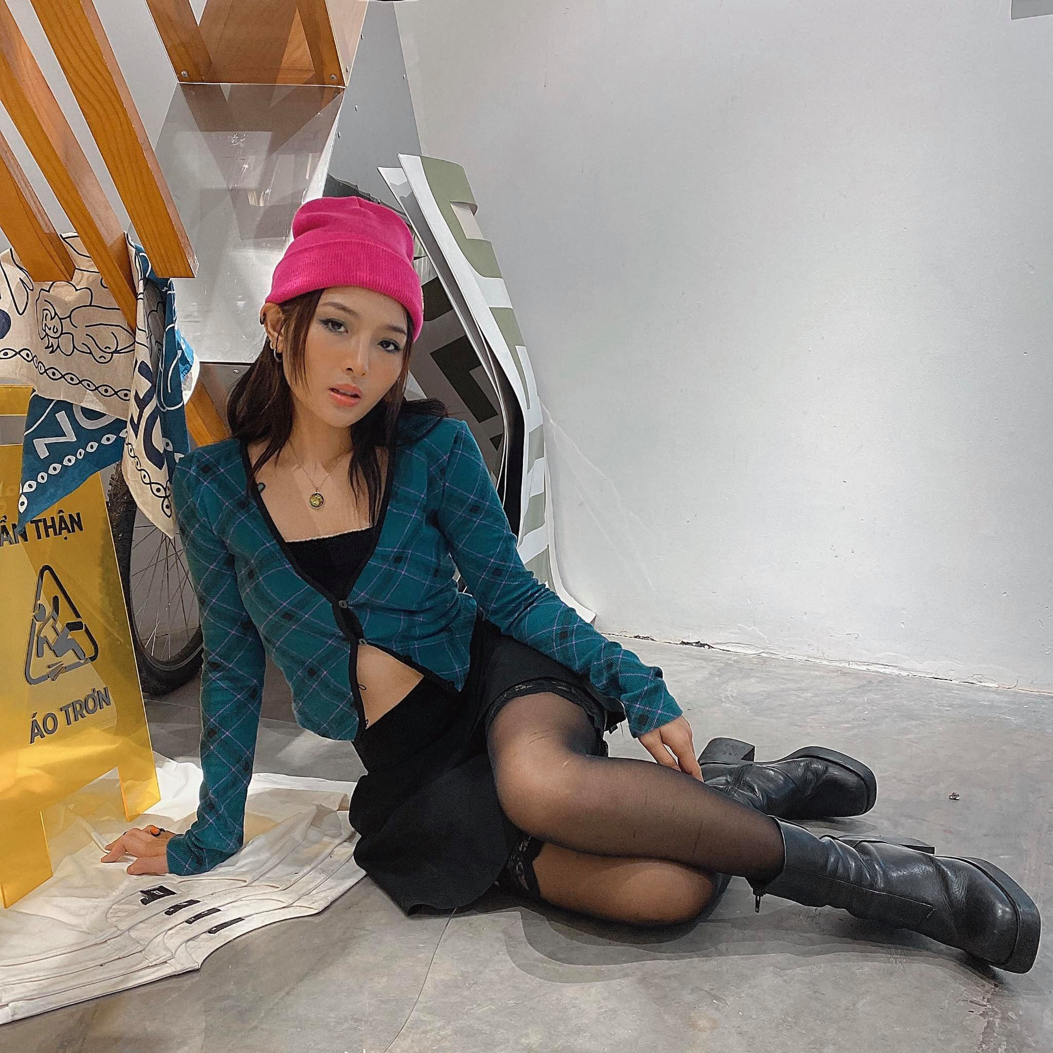 Chup anh can cuoc cong dan, hot girl
