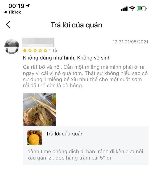 Bi danh gia 1 sao, tiem com ga dap tra khien netizen lac dau-Hinh-3