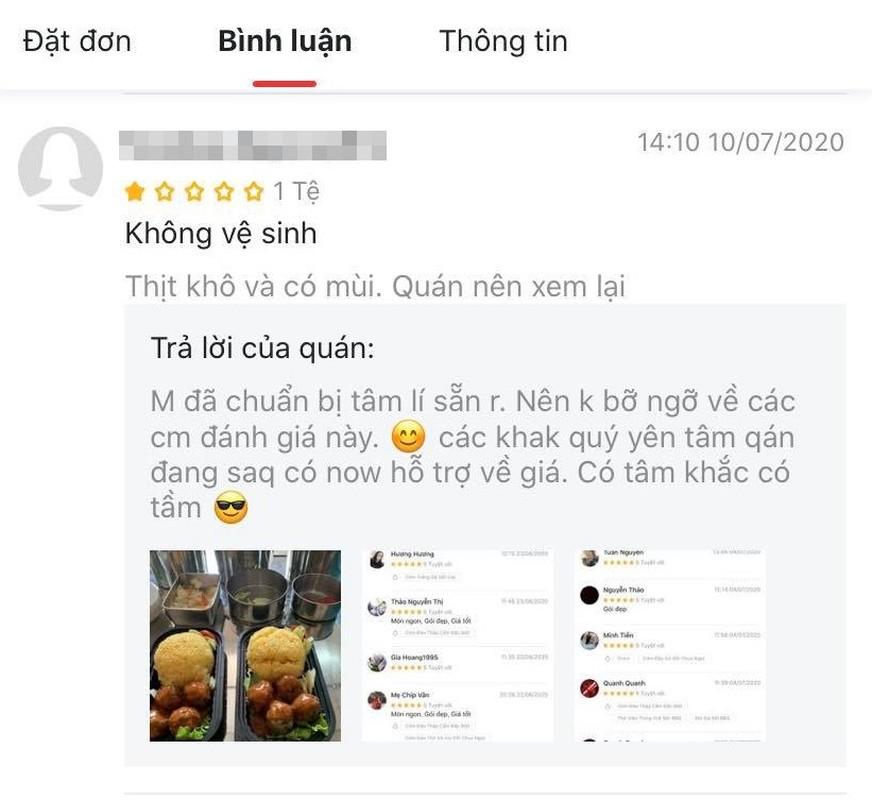 Bi danh gia 1 sao, tiem com ga dap tra khien netizen lac dau-Hinh-4