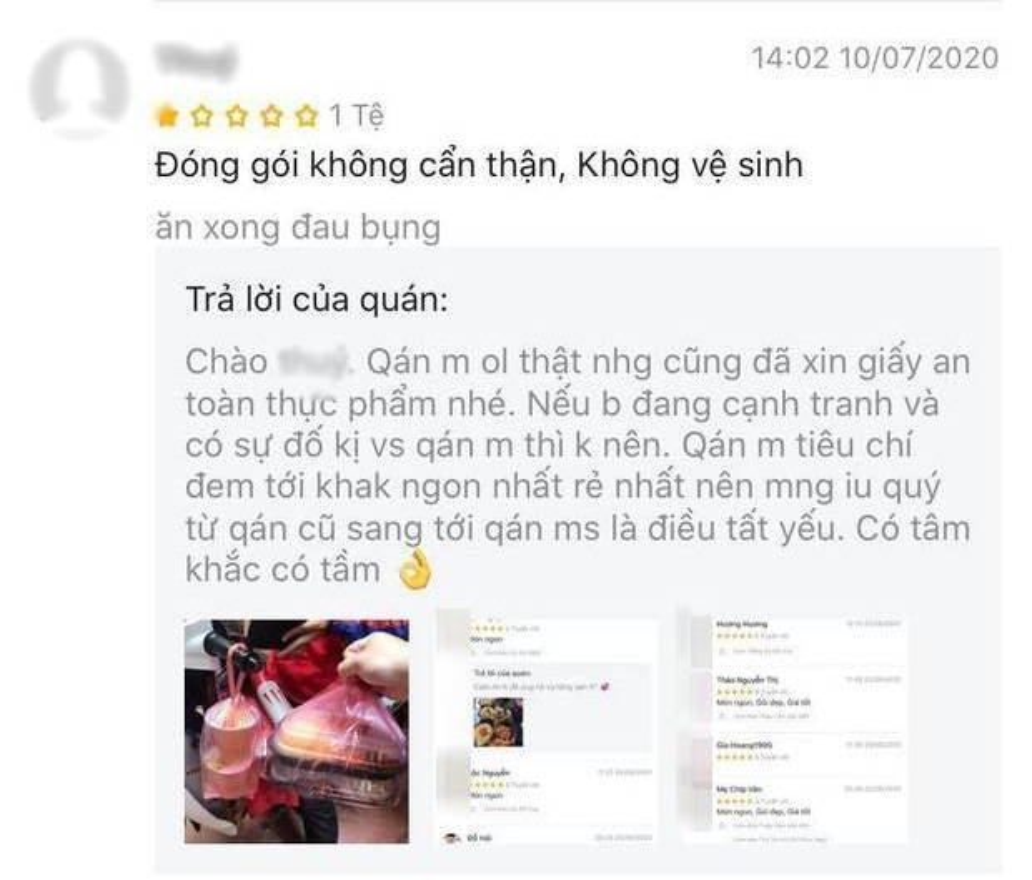 Bi danh gia 1 sao, tiem com ga dap tra khien netizen lac dau-Hinh-5