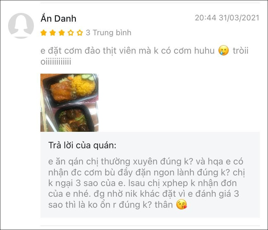 Bi danh gia 1 sao, tiem com ga dap tra khien netizen lac dau-Hinh-7