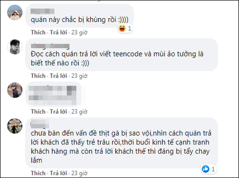 Bi danh gia 1 sao, tiem com ga dap tra khien netizen lac dau-Hinh-8