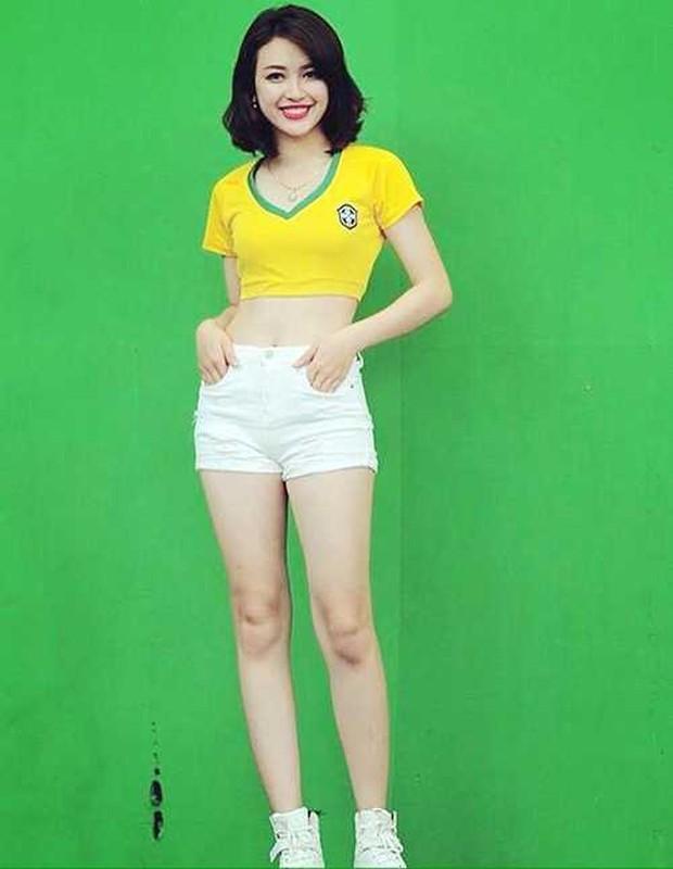 Tham gia Nong cung Euro 2016, hot girl xu Nghe gio ra sao?