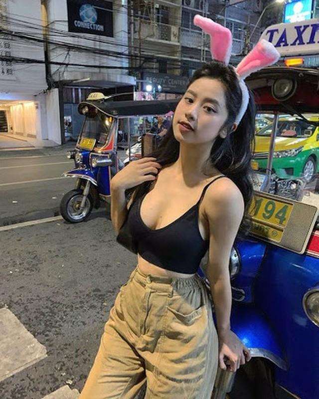 """Sau 1 nam o an, """"hot girl tap hoa"""" khoe voc dang cuc nuot-Hinh-9"""
