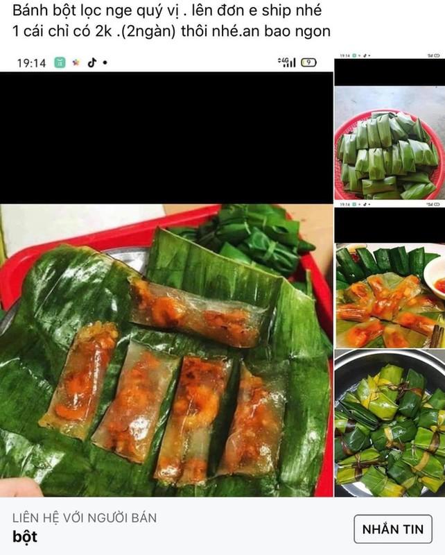 """""""San sale"""" banh bot loc, co gai nhan san pham khien netizen """"cuoi bo"""""""