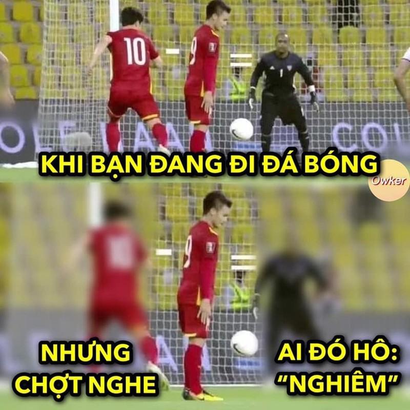 "Quang Hai bat che do ""dung hinh"", netizen che anh bong da"