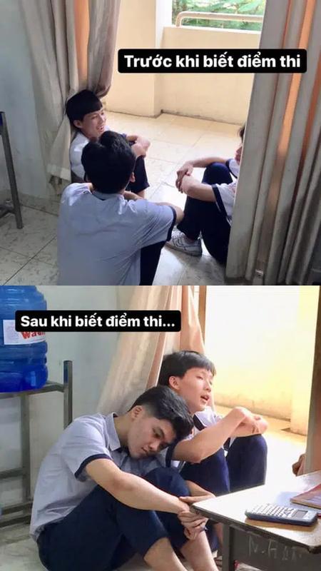 Cong bo diem thi tot nghiep THPT, netizen tung anh che tung bung-Hinh-11