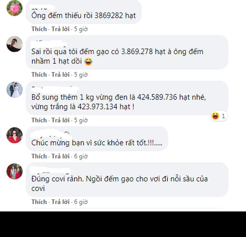 Gian cach ranh roi, netizen thi nhau dem so hat trong 1kg gao-Hinh-3