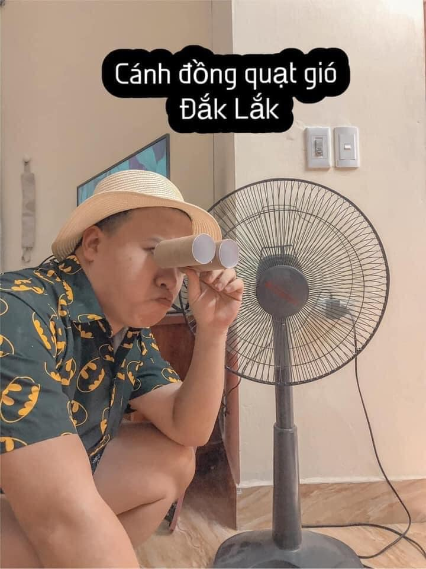 Du lich tai nha mua dich, chang trai 9X lam netizen cuoi ngat-Hinh-2