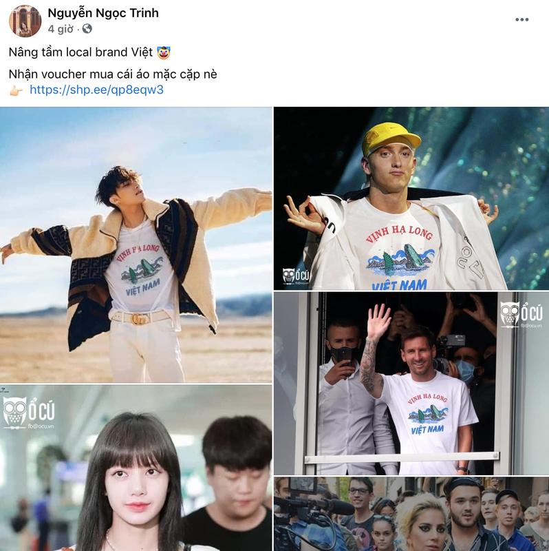 Chiếc áo Vịnh Hạ Long bất ngờ nổi rần rần trên mạng vì sao?