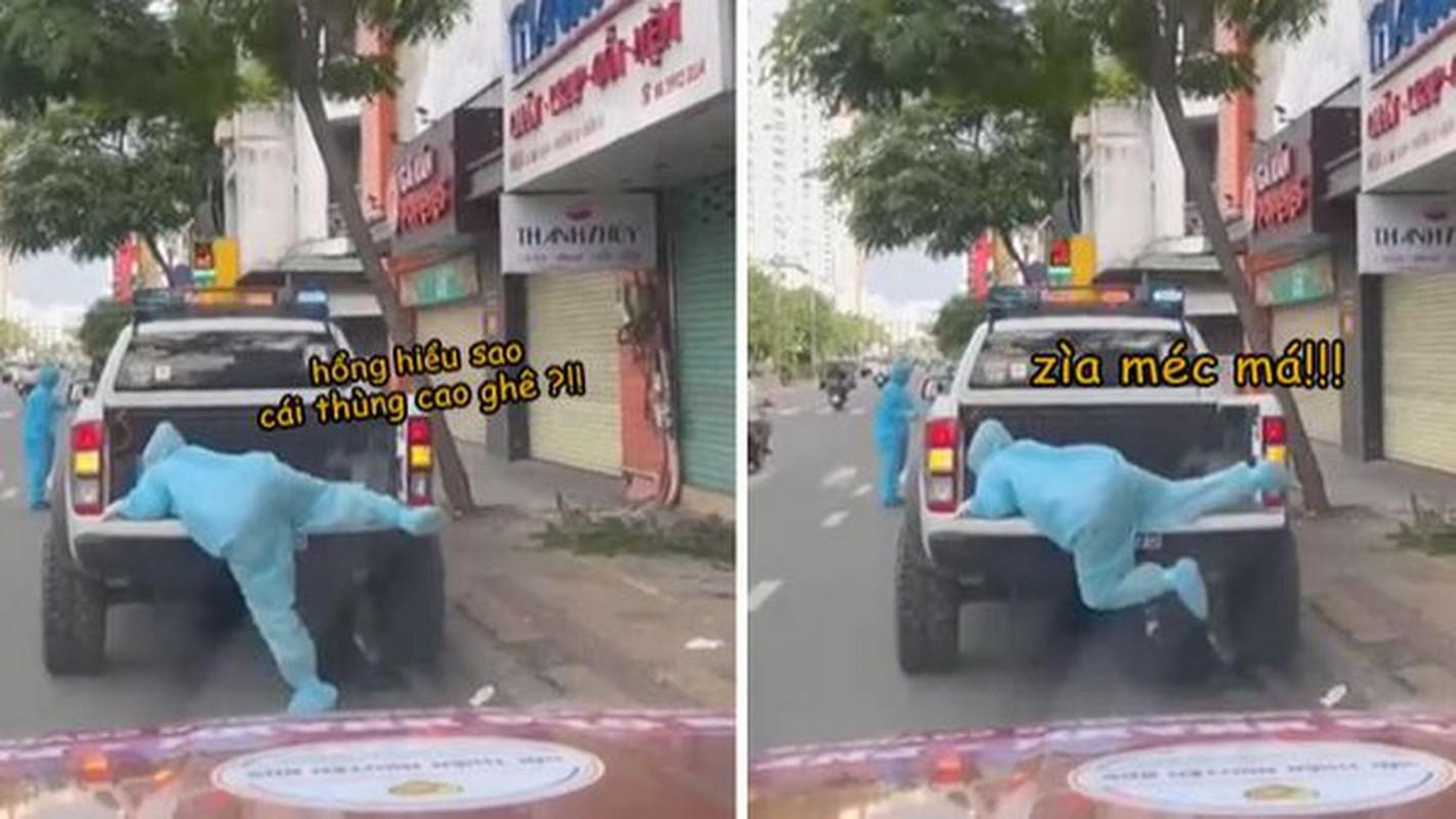 Tranh thu hai xoai, cac nhan vien y te khien netizen