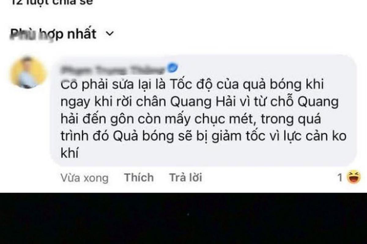 An theo ban thang Quang Hai, co giao Minh Thu bi netizen chi trich-Hinh-3