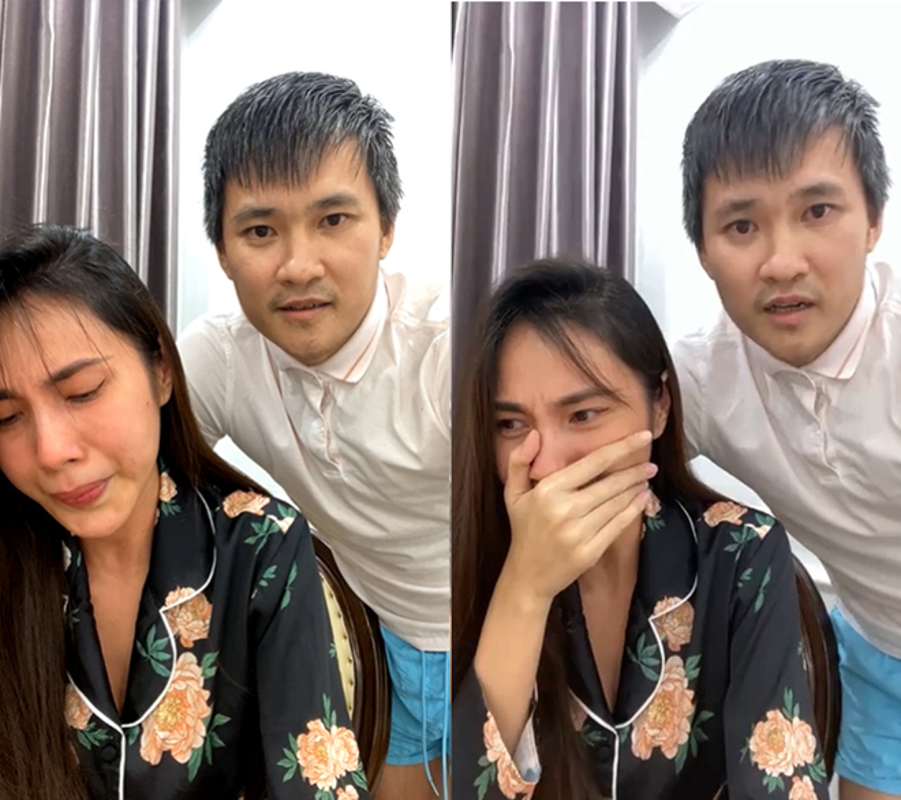 "Phat ngon ""chat lu"" cua Cong Vinh truoc ""tran dau"" voi ba Phuong Hang-Hinh-3"