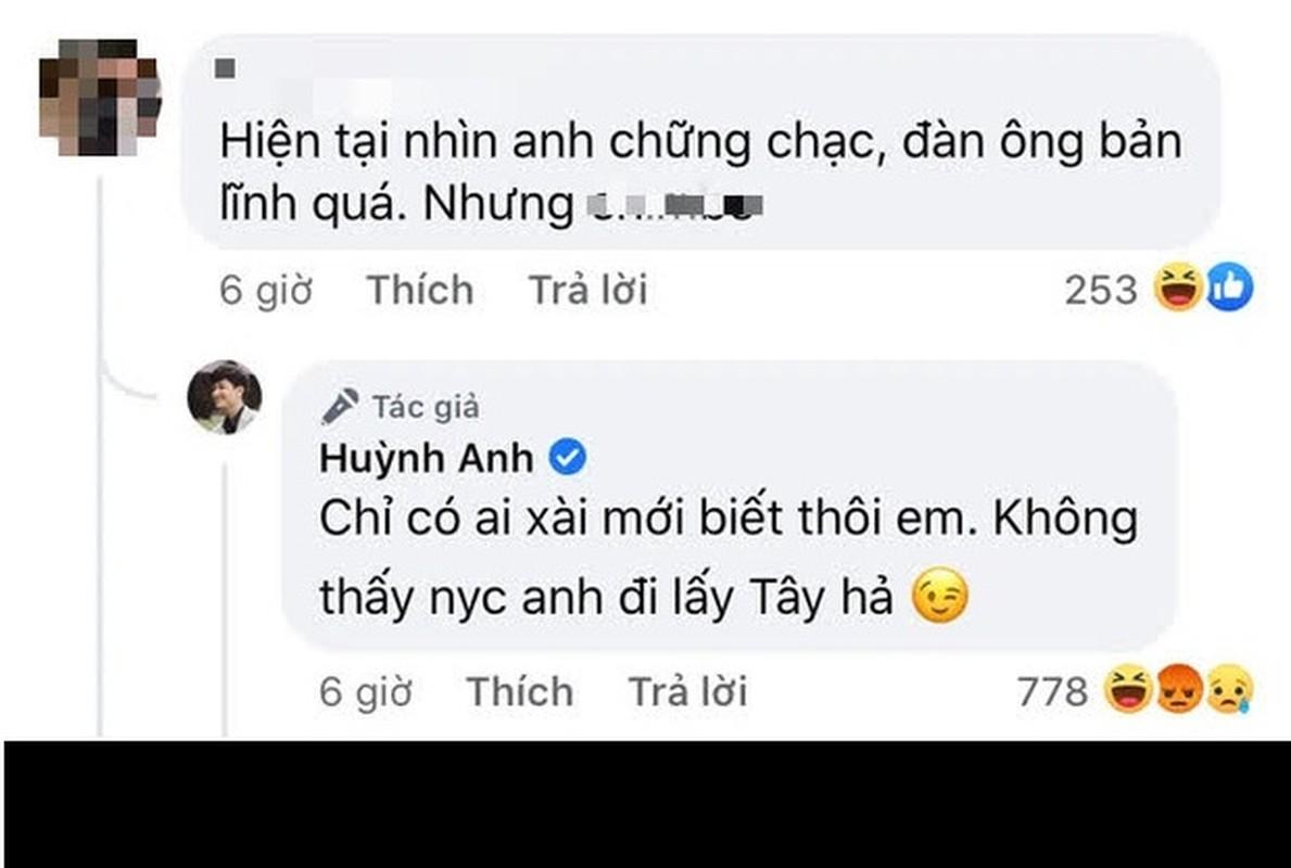 Mac ke binh luan kem duyen, Huynh Anh benh vuc ban gai moi-Hinh-2