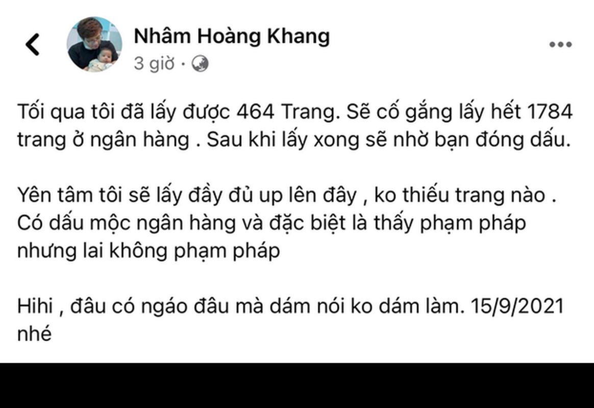 """Cau IT"" Nham Hoang Khang dua cot sao ke, netizen tuc gian ngut troi-Hinh-9"