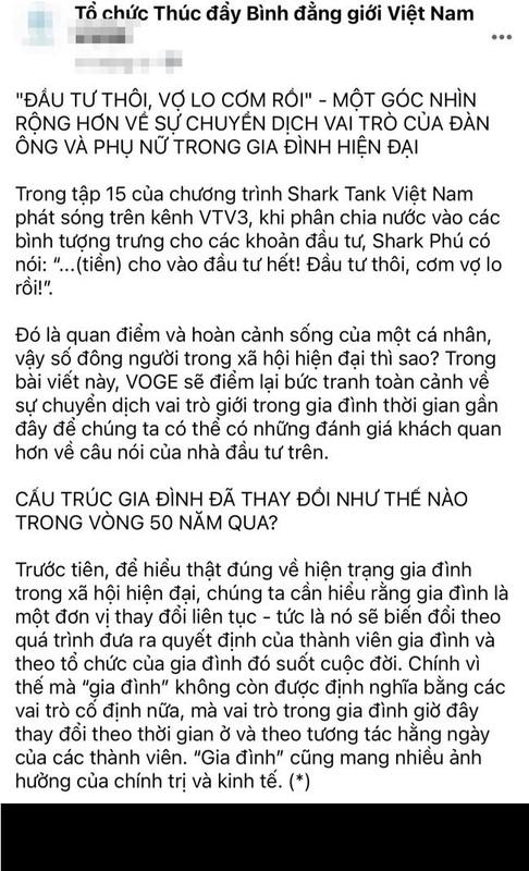 Shark Phu va nhung phat ngon gay xon xao coi mang den phu nu-Hinh-2