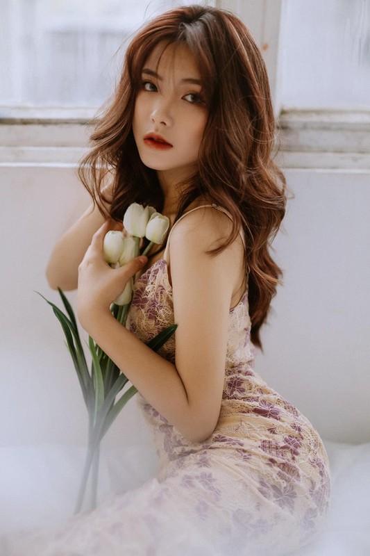 """Hot girl Thai Nguyen nhan sac """"ngot lim"""" don tim bao chang trai-Hinh-9"""