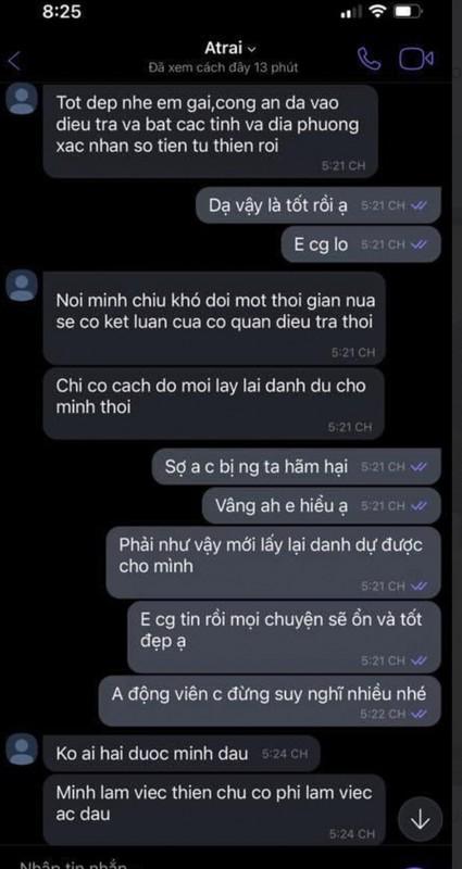 Em gai Cong Vinh tung tin nhan tu thien, netizen xon xao ban tan