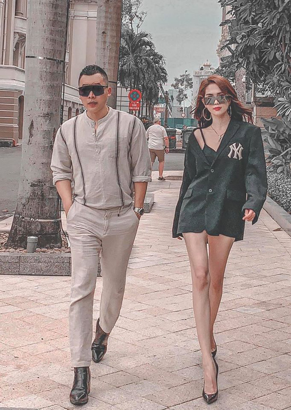 """Chup anh cung Ngoc Trinh, Vu Khac Tiep lo """"ban tay hu""""-Hinh-11"""