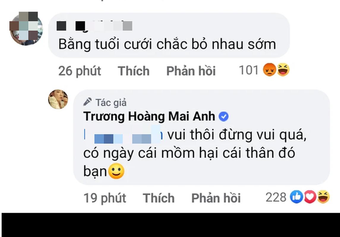 Khoe co chong, Truong Hoang Mai Anh nhan binh luan kem duyen-Hinh-4