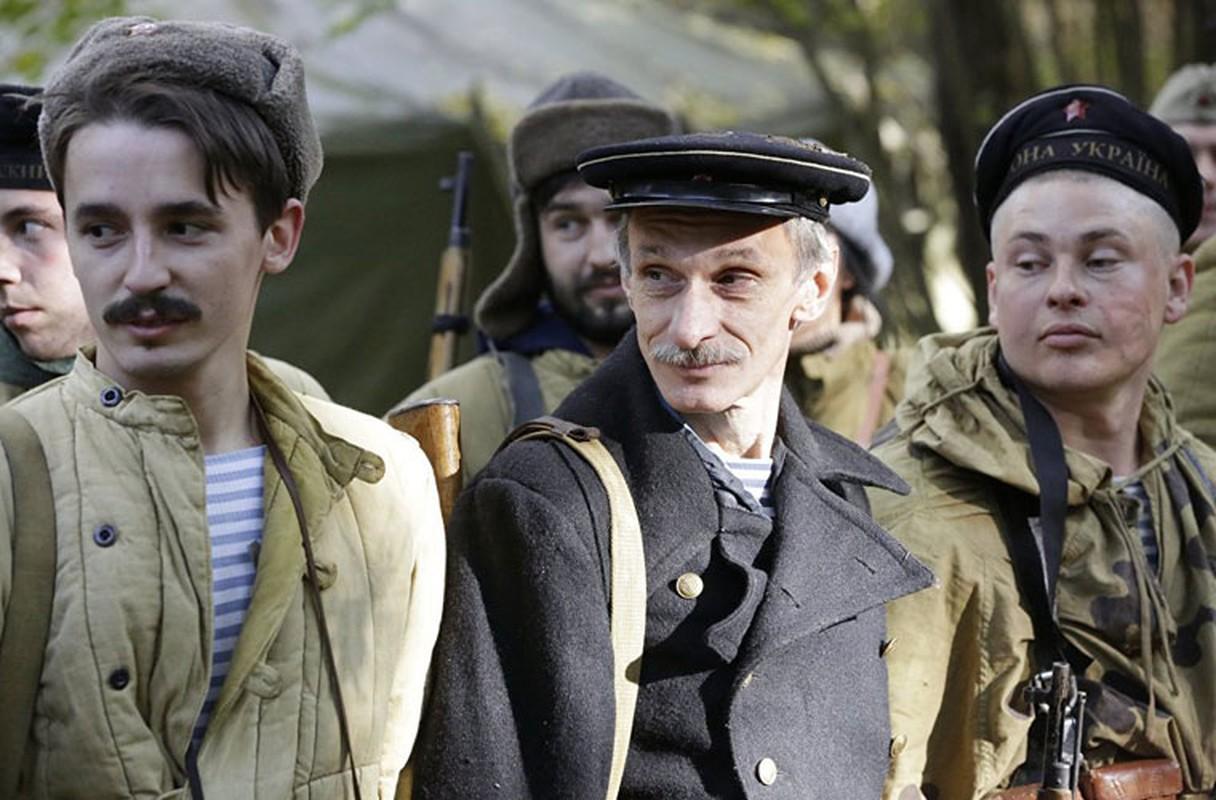 Chum anh tai hien tran chien lich su o Crimea