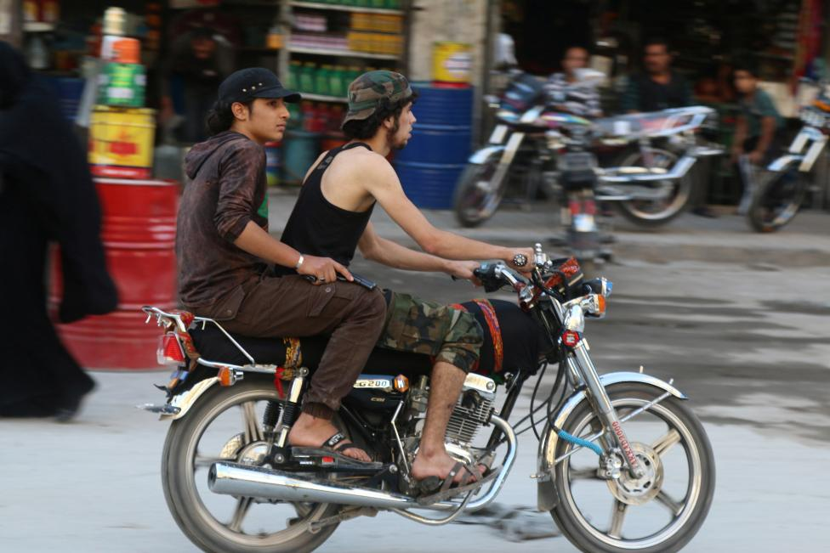 Chum anh khoanh khac yen binh yen hiem hoi o Aleppo-Hinh-10