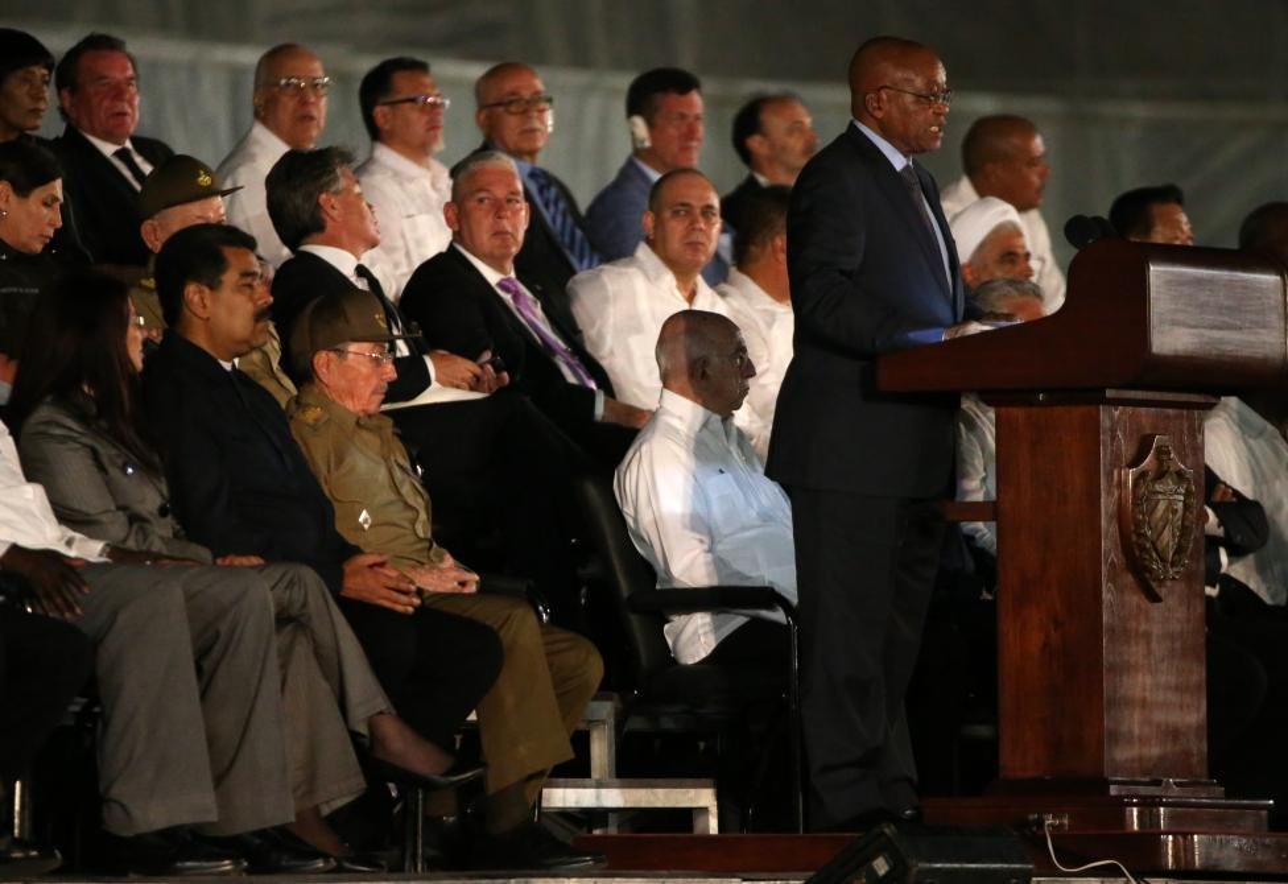 Lanh dao the gioi du le tuong niem lanh tu Fidel Castro-Hinh-12