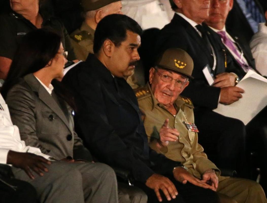 Lanh dao the gioi du le tuong niem lanh tu Fidel Castro-Hinh-13