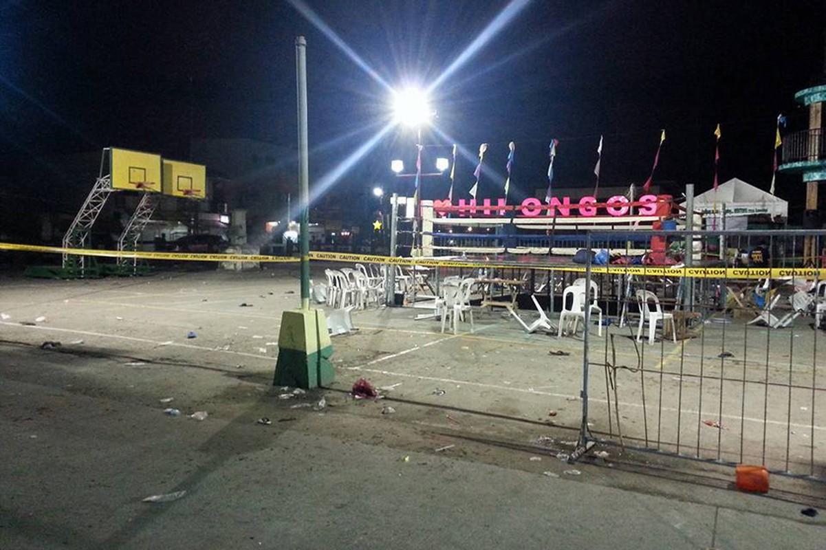 No lon o Philippines, 34 nguoi bi thuong