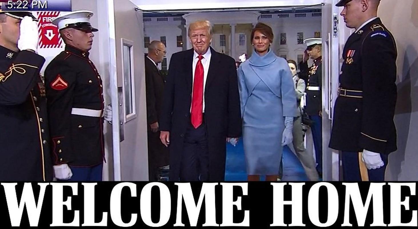 Hinh anh noi bat trong le nham chuc cua ong Donald Trump-Hinh-18