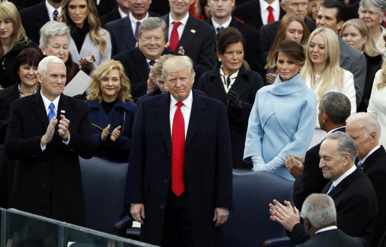 Hinh anh noi bat trong le nham chuc cua ong Donald Trump-Hinh-7
