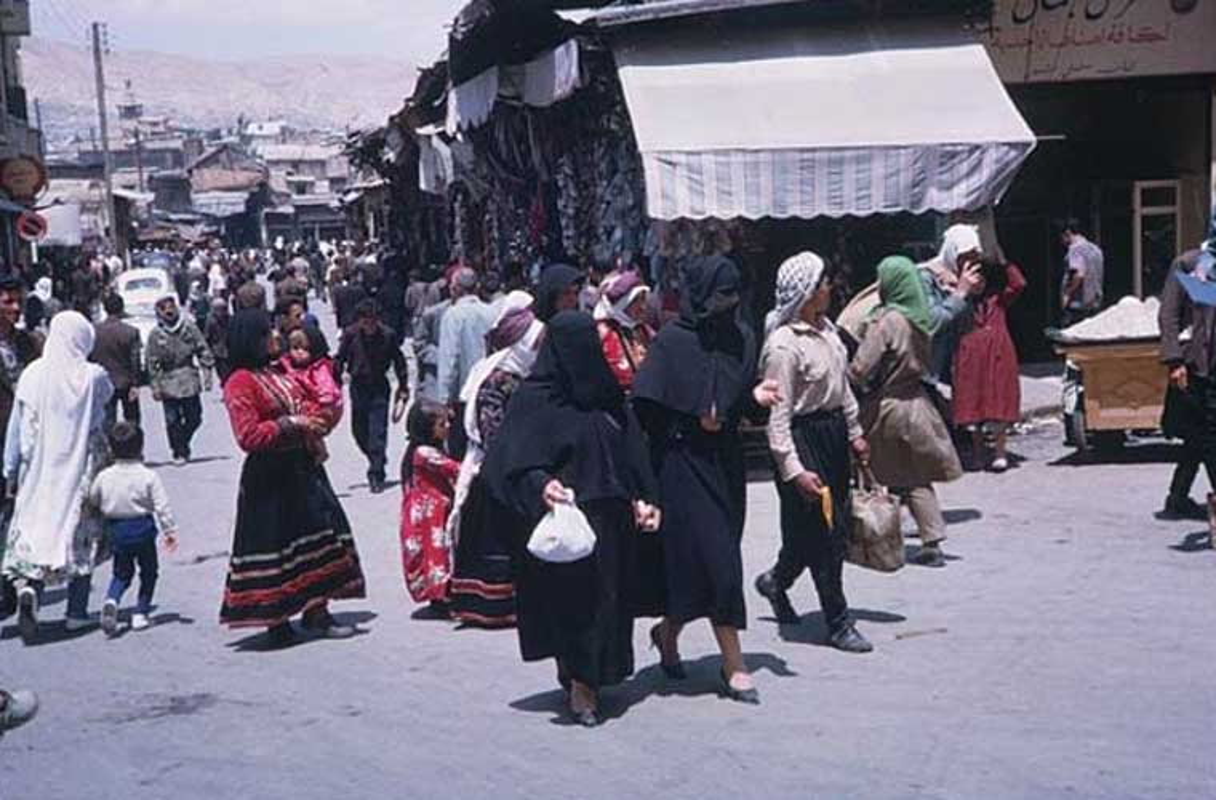 15 anh hiem ve cuoc song yen binh o Damascus nam 1965-Hinh-5