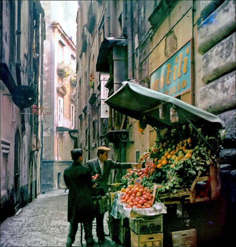 Chum anh thanh pho Napoli nhung nam 1950-Hinh-9