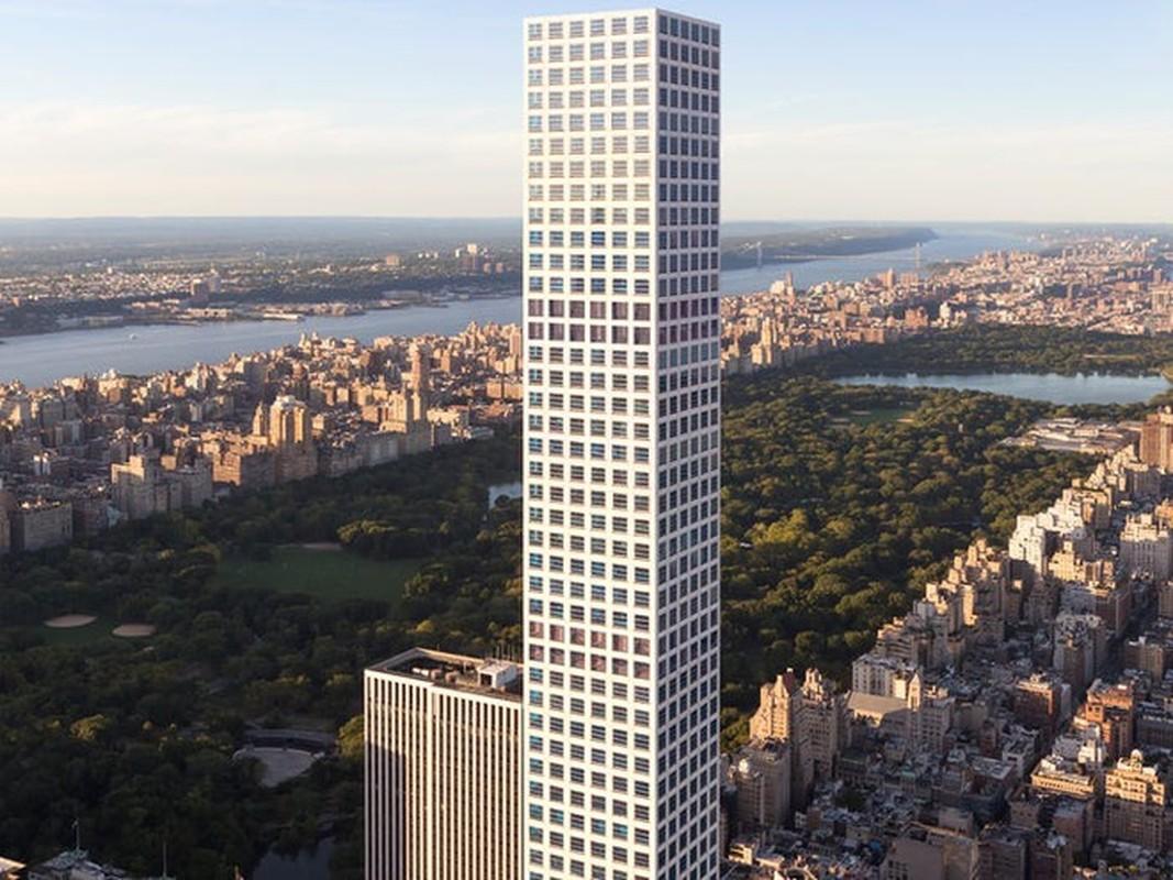 Ngam penthouse o toa chung cu cao nhat New York tri gia 82 trieu USD