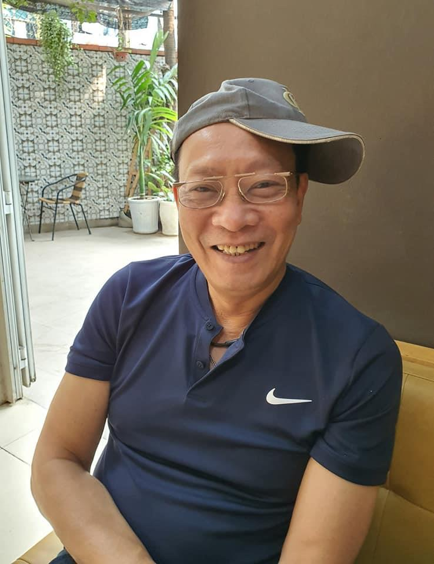 Nhung hinh anh doi thuong gian di cua MC Lai Van Sam