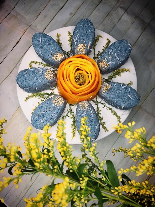 Da mat nhung mon an xanh tim lim tim tu hoa dau biec-Hinh-3
