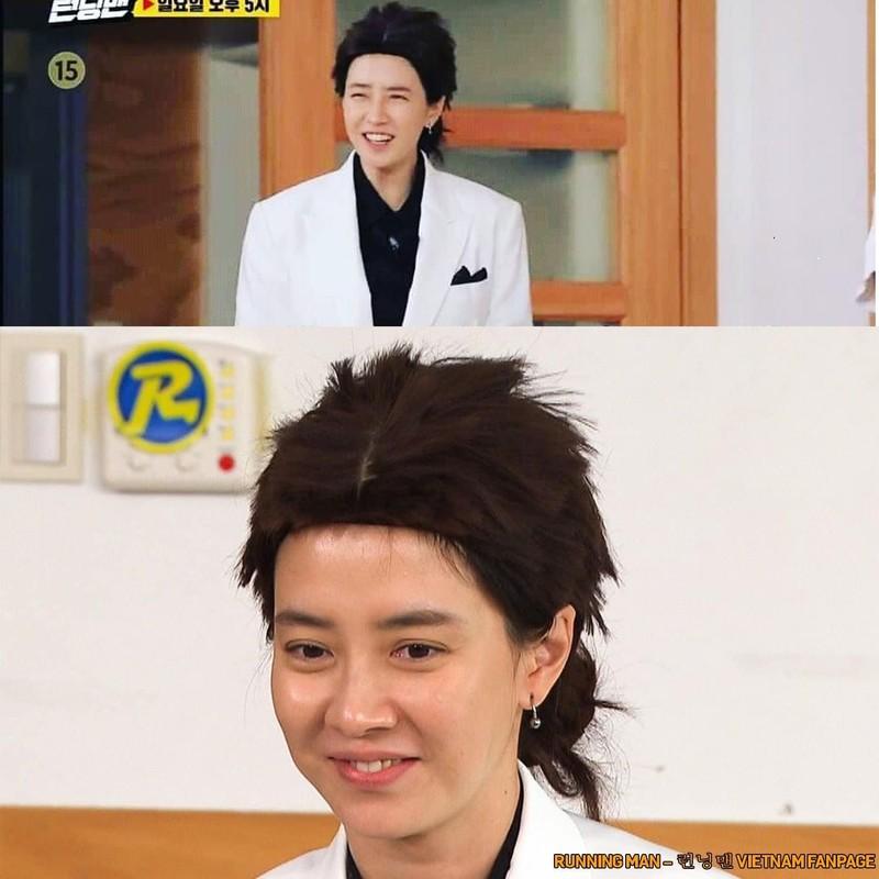 """""""Mo Ngo"""" Song Ji Hyo bi la o vi mac xau trong Running Man-Hinh-5"""