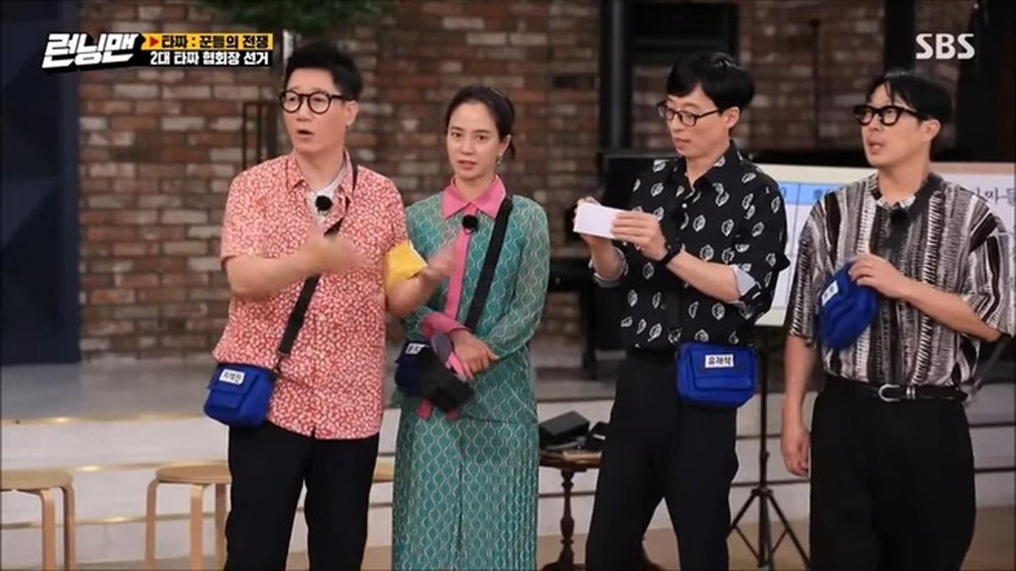 """""""Mo Ngo"""" Song Ji Hyo bi la o vi mac xau trong Running Man"""