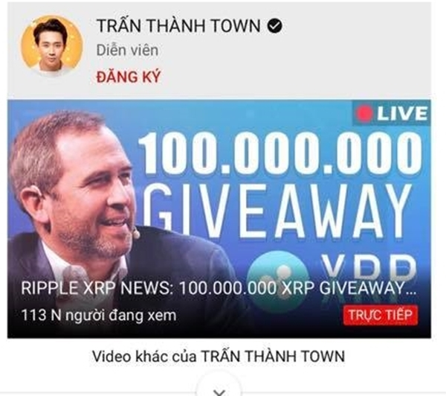 "Ngoai Tran Thanh, ""sao Viet"" nao cung la nan nhan cua livestream Bitcoin?"