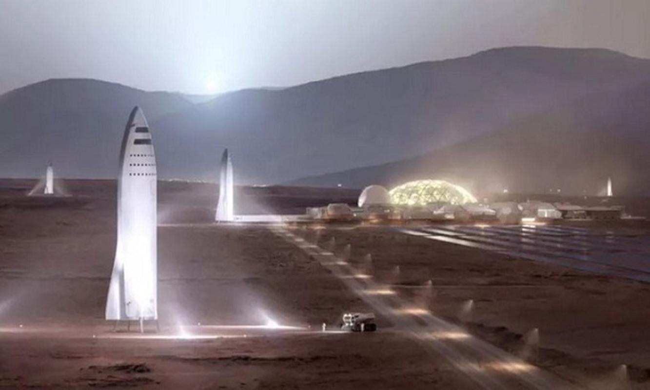 Nam 2024, SpaceX co the dua nguoi toi sao Hoa dinh cu vinh vien
