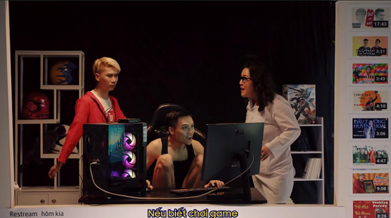 """Vanh Leg vua tro lai da """"ca khia"""" Do Mixi trong MV moi-Hinh-12"""