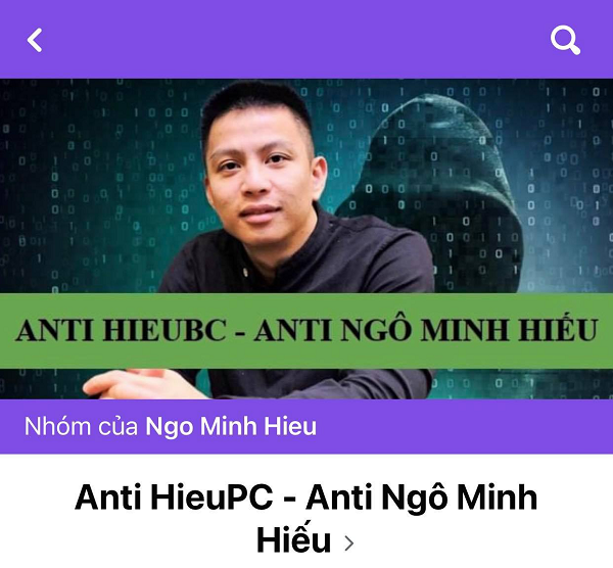 Hieu PC bi lap group anti sau khi danh bay trang web lua dao