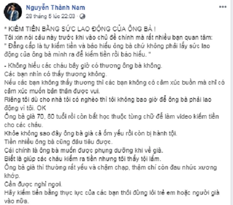 """Streamer, youtuber Viet tung """"khoc nhu mua"""" vi nhung lan... va mieng-Hinh-8"""