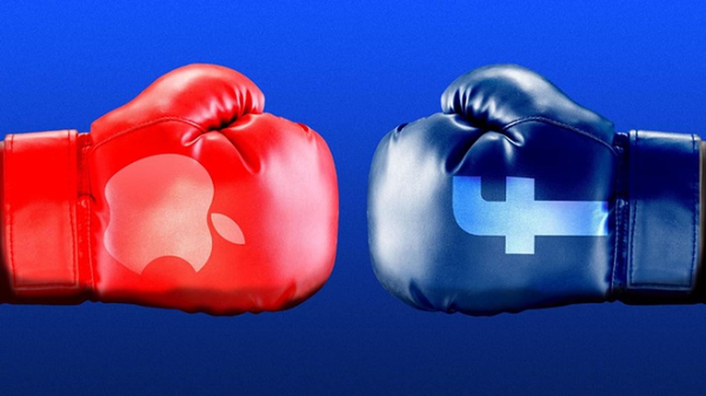 Apple dung truoc nguy co tiep tuc khi bi Mark Zuckerberg kien