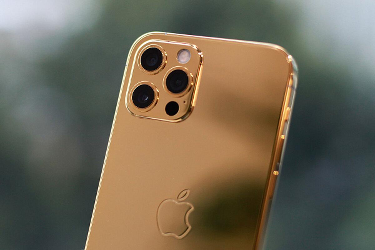 iPhone 12 ma vang