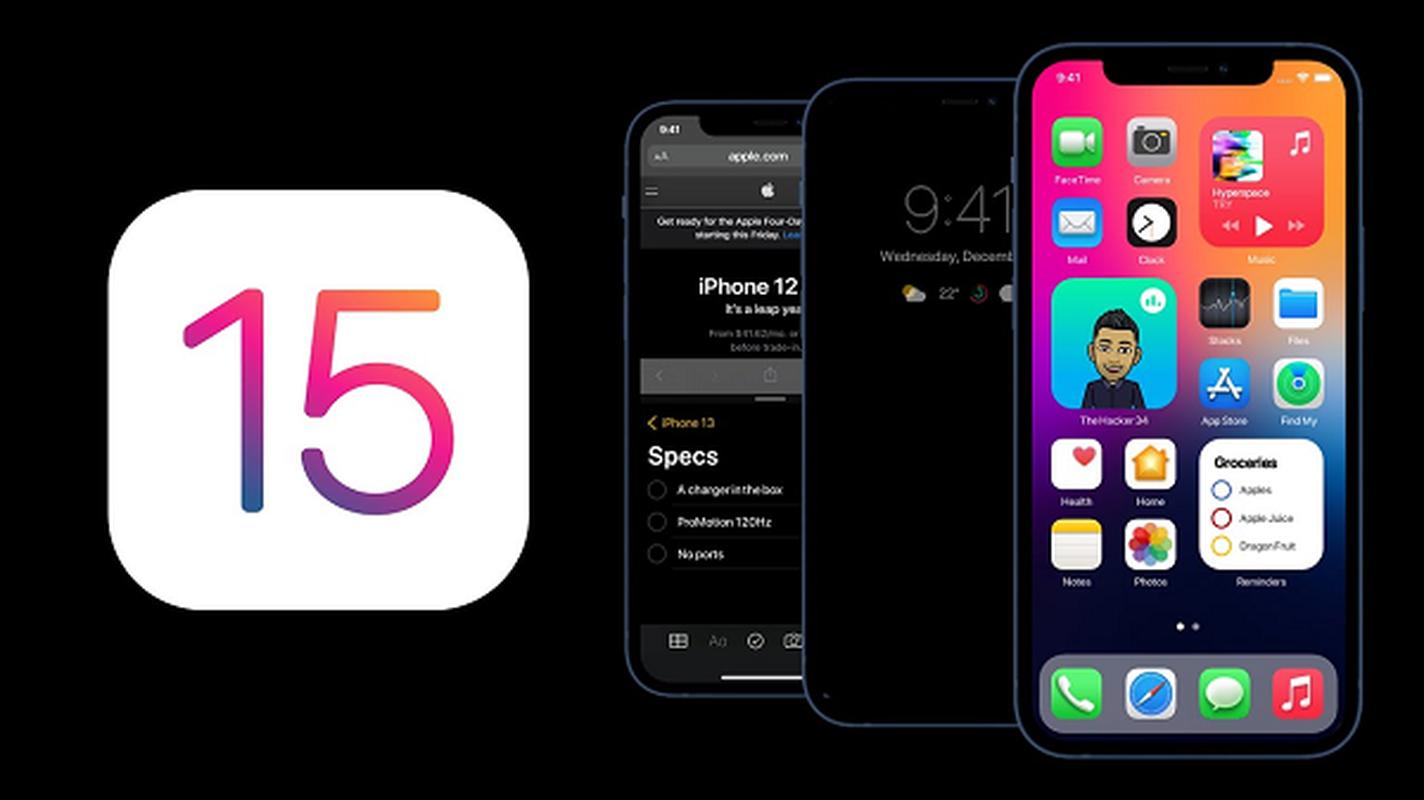 iOS 15 sap ra mat giup iPhone chia doi man hinh, nang cao bao mat